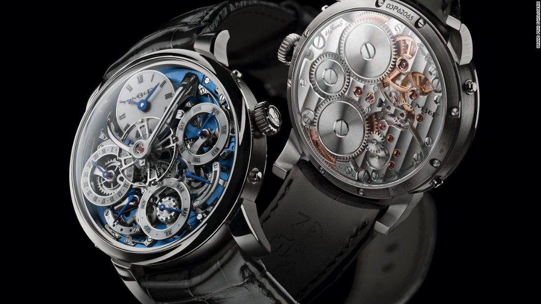 Winners of the 'Oscars of watches' on show at Dubai