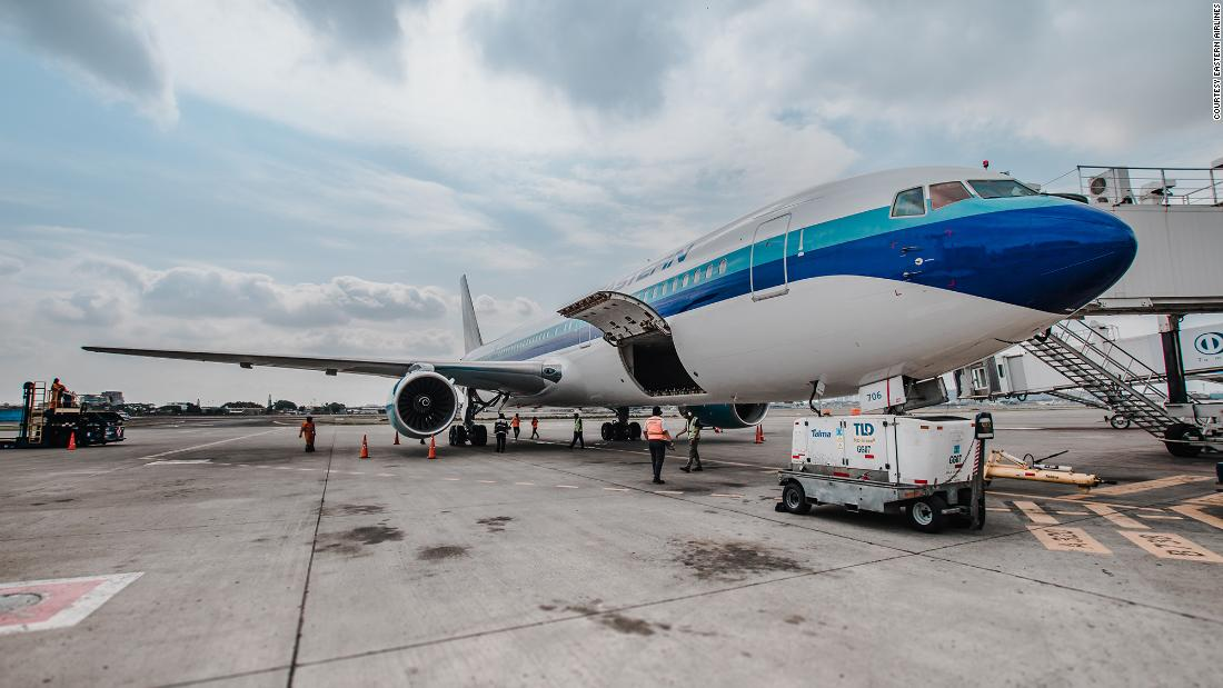 Eastern Airlines returns to the sky